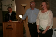 The 2012 Youth in Business Award was given to Cassie Foxley of Kootenay Occassions/Pyro Pizza. Photo Erin Perkins.